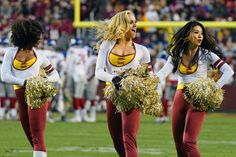 Cheerleaders from Week 17 of the 2016 NFL season. Cheddar Broccoli Potato Soup, Cheerleading, Redskins Cheerleaders, Nfl Season, Washington Redskins, Easy Chicken Recipes, Sports Illustrated, Sexy Hot Girls, Image
