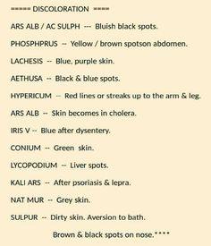 Skin discoloration