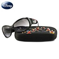 Disney Sunglasses with Sparking Mickey Mouse Silhouette (100% UV protection, too!)