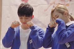 JeongCheol being cute. Jeonghan and Seungcheol