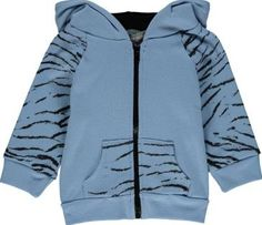 Milk on the Rocks Jungle tiger sweatshirt Blue `12 months,18 months Fabrics : Cotton jersey Details : Straight cut, Long sleeves, Patch pocket, Zip, Hood with ears, Ribbing Composition : 100% Cotton http://www.comparestoreprices.co.uk/january-2017-7/milk-on-the-rocks-jungle-tiger-sweatshirt-blue-12-months-18-months.asp