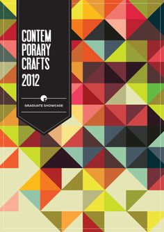Contemporary Crafts Graduate Catalogue :: Falmouth by Courtney Stewart, via Behance. Gorgeous colors.