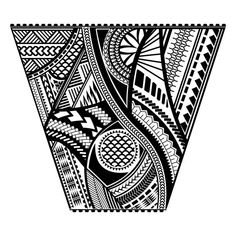 """Buy the royalty-free Stock vector """"Polynesian tattoo style sleeve vector design. Trapeze shape mayan"""" online ✓ All rights included ✓ High resolution vec. Maori Tattoos, Samoan Tattoo, Body Art Tattoos, Tribal Tattoos, Sleeve Tattoos, Filipino Tattoos, Polynesian Tattoo Sleeve, Polynesian Tattoo Designs, Maori Tattoo Designs"""