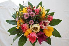 """Frühlingserwachen mit einem wunderschönen Tulpenstrauß von Susanne Mangold  Made by """"Blumenstängel by Susanne Mangold"""""""