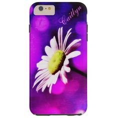 #Pink N Amethyst #Daisy iPhone 6 and 6 plus cases *Personalize* #purple