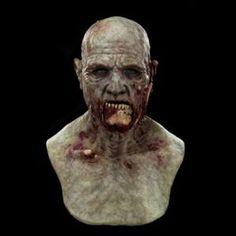 Slackjaw the Green Zombie Silicone Mask