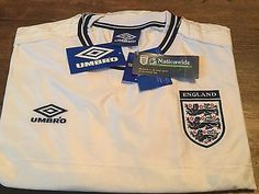 1999 2001 england bnwt new home #football #shirt adults xxl 2xl #jersey,  View more on the LINK: 	http://www.zeppy.io/product/gb/2/282353357322/
