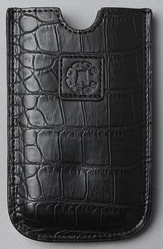 The Croc iPhone Case in Black    Crooks and Castles