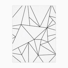 He encontrado este interesante anuncio de Etsy en https://www.etsy.com/es/listing/232322970/fine-art-minimalist-poster-ink-drawing