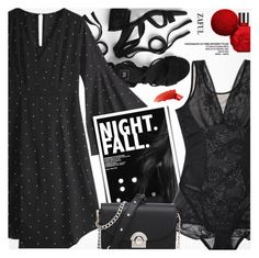 """""""Night Fall"""" by pokadoll ❤ liked on Polyvore featuring By Terry"""