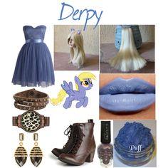 """Derpy Costume"" by laurakhamner on Polyvore"