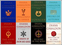 This is the complete Outlander Series. Includes all 8 books in the series:  1.  Outlander 2.  Dragonfly in Amber 3.  Voyager 4.  Drums of Autumn  5.  The Fiery Cross 6.  A Breath of Snow and Ashes 7.  An Echo in the Bone 8.  Written in my Own Hearts Blood  Claire Randall is leading a d...