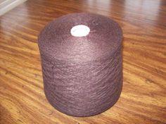 Brown Hi Bulk Acrylic Yarn Machine knitting yarn by stephaniesyarn