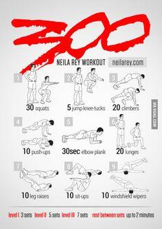 Sparta workout!
