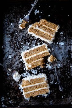 Coconut Carrot Cake Recipe with Cream Cheese Frosting