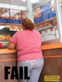 Get a laugh: Sexy Style Fail