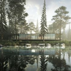 The scene was made in 3ds Max and was rendered in Corona-renderer Architects…