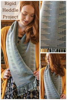 This rigid-heddle project will teach you how to create patterning with clasped weft. Weave a scarf for fall while learning an easy weaving technique.