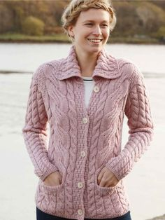 Extremely soft & very comfortable cardigan with neck detail