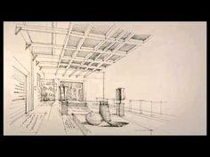▶ meyssam seddigh - Fast Sketch - Interior Design - Museum of Anthropology - YouTube