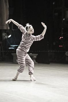 Diana Vishneva in swan lake rehearsal