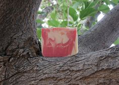 Peppermint Soap / Cold Process / Handmade by LatherRinseClean, $4.00
