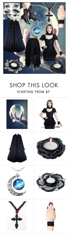 """""""Modern Witch"""" by phoenix4242564 ❤ liked on Polyvore featuring modern"""