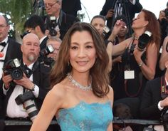 Michelle Yeoh looked radiant in Chopard Diamonds on the Festival de Cannes red carpet.