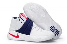 new style 8be4b 06673 Original Nike Kyrie 2 USA Olympic White Deep Roya Blue University Red  826673 164 Men s Basketball Shoes 826673-164
