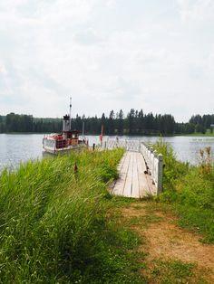 Kesäretki taidekeskus Järvilinnaan Laukaa Höyrylaiva Toimi