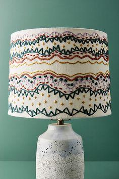 Unique Lamps, Unique Lighting, Flow Design, Garden Lamps, Vintage Lamps, Floor Lamp, Shabby, Home Decor, Lamp Shade Makeover