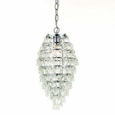 Crystal Teardrop Lighting Fixtures