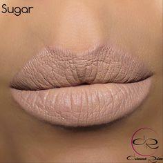 Sugar Matte Liquid Lipstick Coming in January 2015 by #ColouredRaine