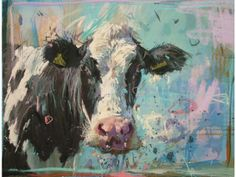 Cow Art Lover: James Bartholomew For Christmas! Animal Paintings, Animal Drawings, Cow Painting, Knife Painting, Cow Art, Watercolor Animals, Wildlife Art, Illustrations, Pet Portraits