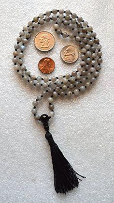 LABRADORITE HAND KNOTTED EXCLUSIVE JAPA MALA 6 MM BEADS TOP GRADE PRAYER BEADS MALA NECKLACE. BLESSED & ENERGIZED (108+1) HINDU TIBETAN BUDDHIST PRAYER KARMA BEADS SUBHA ROSARY MALA FOR NIRVANA, BHAKTI, FOR REMOVING INNER DOSHAS, FOR CHANTING AUM OM, FOR AWAKENING CHAKRAS, KUNDALINI THROUGH YOGA MEDITATION-FREE OM MALA POUCH INCLUDED AWAKEN YOUR KUNDALINI http://www.amazon.com/dp/B00RSJWJM8/ref=cm_sw_r_pi_dp_BQa2vb1C3F637
