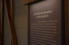 »Georg Forster – Der Welterkunder in Wörlitz« die Dauerausstellung.