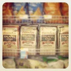 Flamous Falafel Chips at Whole Foods at South Loop and Lincoln Parks #flamous #falafel #chips #wholefoods #wf @Whole Foods Market #lincolnpark #southloop #healthy #nongmo #organic #food #snacks #natural
