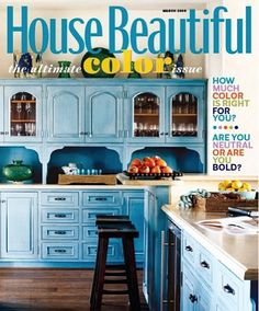 House Beautiful Magazine: 1 year for 4.99! {packed with home design and diy inspiration!} #homes #diy
