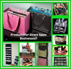 Need help organizing your direct sales supplies?! Look no further than at Clever Container! www.mycleverbiz.com/carriesilvia