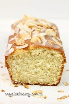 babka kokosowa Polish Cookies, Food Cakes, Sweet Bread, Eclairs, Banana Bread, Ale, Cake Recipes, Gluten Free, Sweets