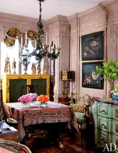 Iris Apfel's Manhattan Apartment : Architectural Digest