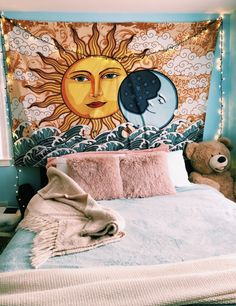 The Celestial Tapestry represents a reaching for the stars, a presence of mind that is in tune with the Earth and its energy. Grab the Celestial Tapestry today at the best online tapestry website!