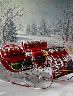 Santa's sleigh   ~ Ʀεƥɪииεð╭•⊰✿ © Ʀσxʌиʌ Ƭʌиʌ ✿⊱•╮