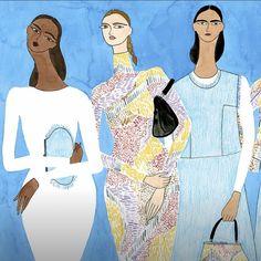 Bags // Texture // Denim // by @isabellefeliu #fashionillustration #fashionart #minimalism #beauty #minimalism #fashion #handbag #scandinavia