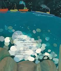 Here at NPR Books, we may be grown-ups, but we still enjoy channeling our inner And this week, we have the perfect excuse: Monday's Caldecott Medal announcement for picture book artistry. Very Short Poems, White Chrysanthemum, Melissa Sweet, Rocky Shore, 7 Year Olds, Beautiful Words, Childrens Books, Illustrators, Cool Pictures