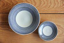 藍駒 小皿・中皿  (馬場商店) Aigoma plates medium ; small Baba Shoten