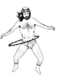 Jesus hula hoop