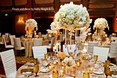 Florals and decor by Kathy Wright and Co. True Photography Weddings