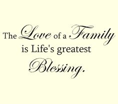 Thank You For Blessing Me With A Great Family Not A Perfect One