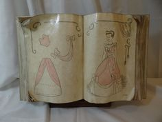 Rare WDCC Disney Cinderella Sewing Book from Cinderella with Box  | eBay